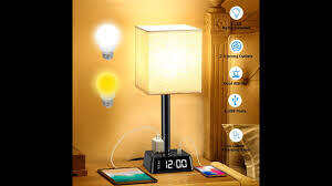 bedroom lamps with  USB Ports